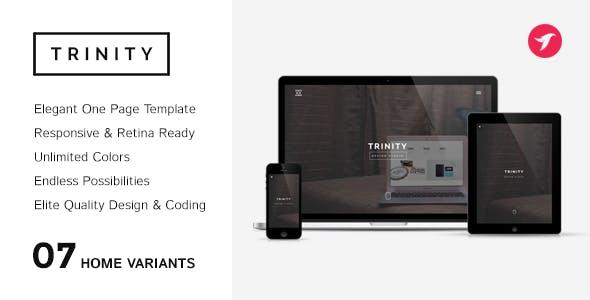 TRINITY - Elegant & Responsive One Page Parallax