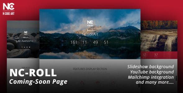 NC-Roll Coming-Soon Page