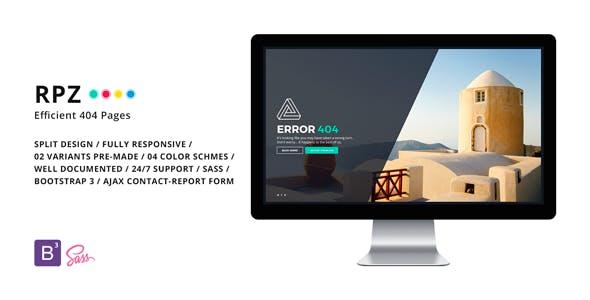 RPZ - Efficient 404 Pages