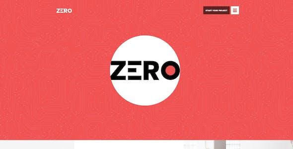 Zero - Corporate Creative WordPress Theme