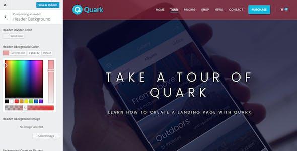 Quark - Single Product eCommerce Theme