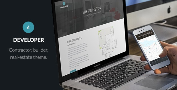 Developer - Builder, Contractor, Developer WP Theme - Real Estate WordPress