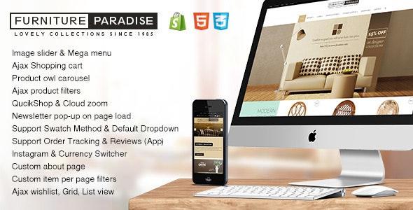 Furniture Paradise - Responsive Interior Shopify Theme - Miscellaneous Shopify