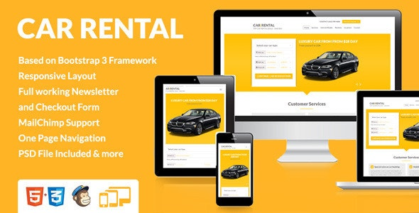 Car Rental With Tire Chains, Car Rental Landing Page, Car Rental With Tire Chains