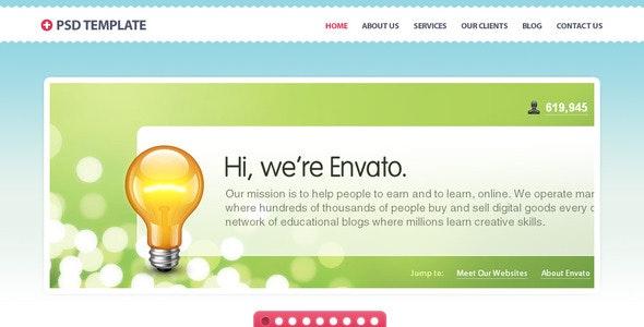 +PLUS HTML Theme - Creative Site Templates