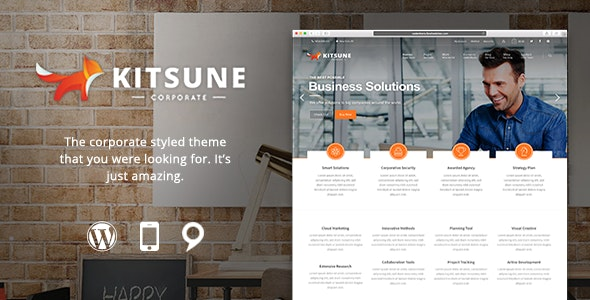 Kitsune - Innovative and Easy-to-Use Theme - Business Corporate