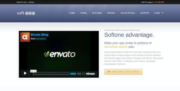 Softone Software / App HTML Template