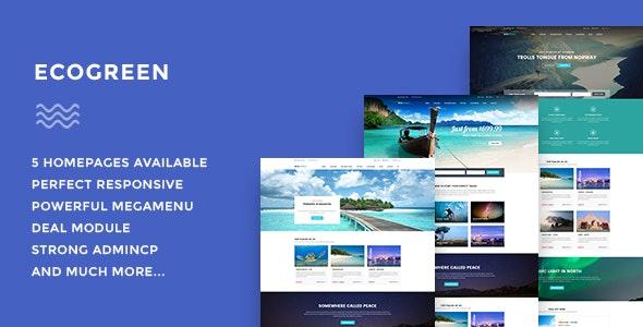 Leo Ecogreen Responsive Prestashop Theme for Travel & Booking - PrestaShop eCommerce