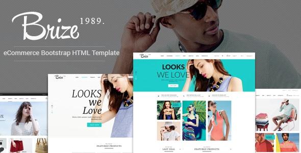 Brize - Fashion Store HTML Template - Fashion Retail