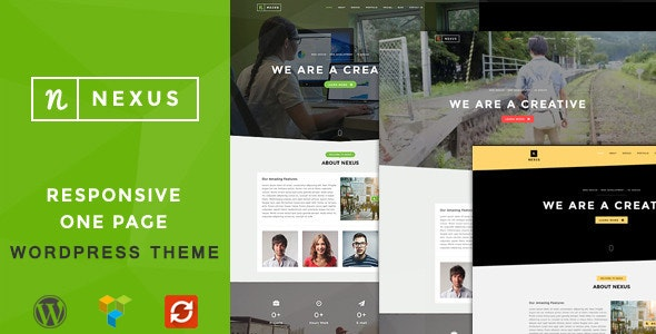 Nexus - Onepage Multipurpose WordPress Theme - Business Corporate