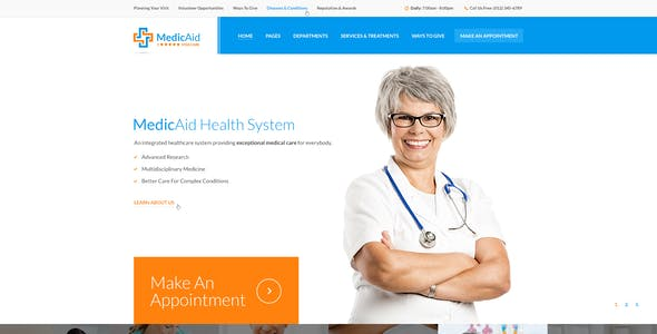 MedicAid - Medical PSD Template