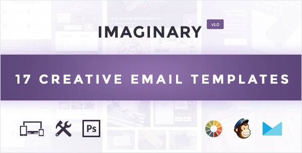 Imaginary - Multipurpose Email Template + Builder Access - Email Templates Marketing
