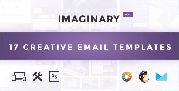 Imaginary - Multipurpose Email Template + Builder Access