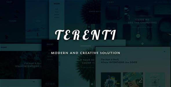 Terenti - Creative Portfolio / Agency Template