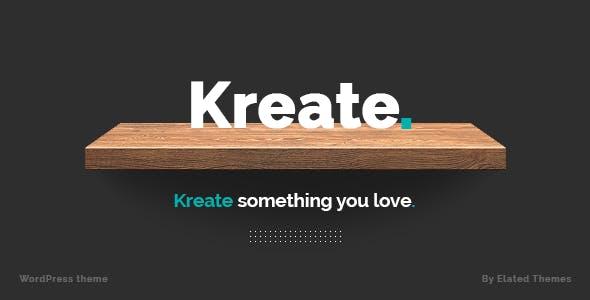 Kreate - Modern Creative Agency Theme