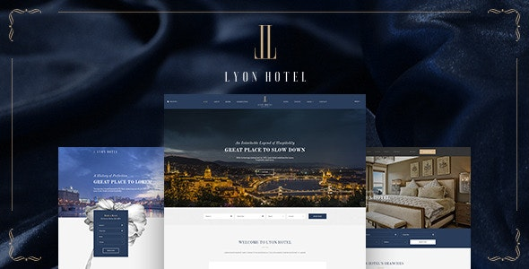 LYON – Luxury Hotel Booking HTML5 Template - Travel Retail