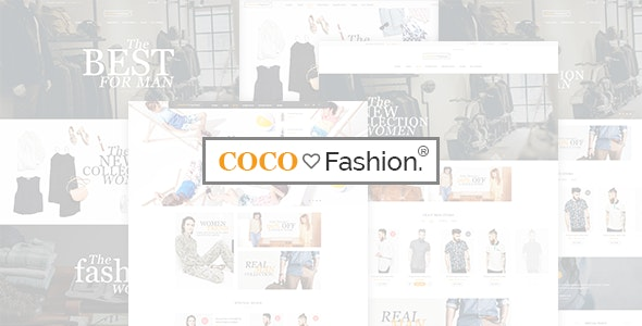 Coco - Fashion Store HTML Template - Fashion Retail