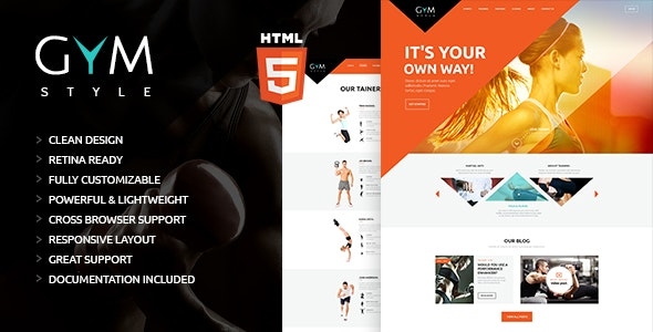 GYM | Sport & Fitness Club HTML Theme - Health & Beauty Retail