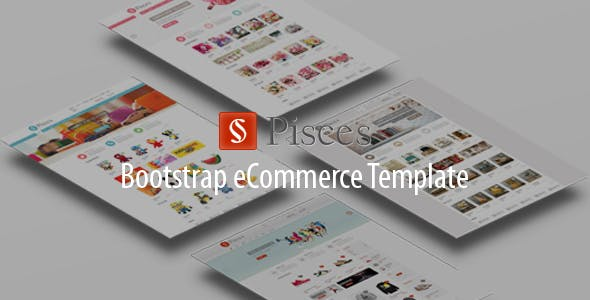 Furniture Flower Store HTML Template - Pisces