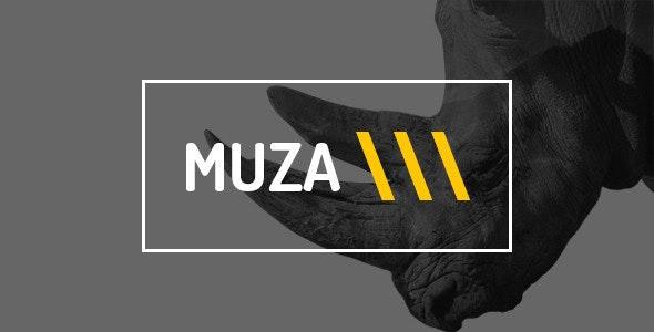 Muza — Creative Portfolio or Agency PSD Template - Creative Photoshop