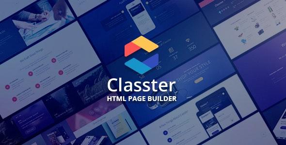 Classter | Landing Page Set Theme - Landing Pages Marketing