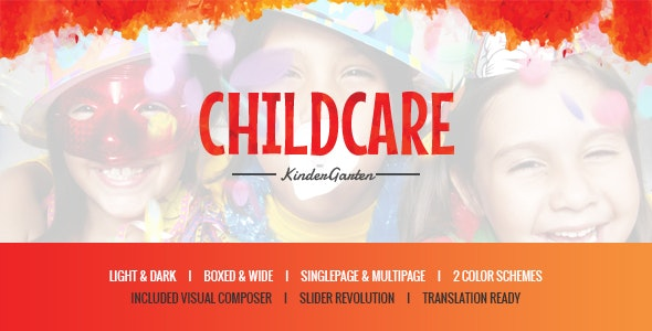 Child Care - Children & Kindergarten WP Theme - Children Retail