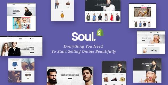 Soul - Responsive Multi-purpose Shopify Theme