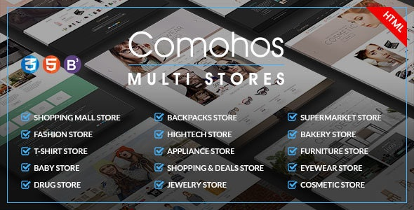Comohos - MultiPurpose eCommerce HTML5 Template - Fashion Retail