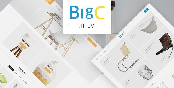 Big Shop -  Responsive HTML Template - Retail Site Templates