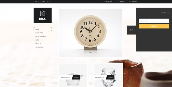 Big Shop -  Responsive HTML Template