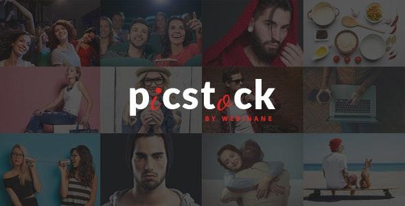 PicStock- Ultra Advanced Stock Media HTML Template - Business Corporate