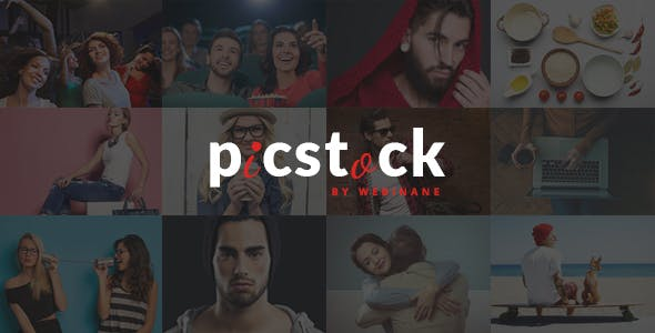 PicStock- Ultra Advanced Stock Media HTML Template