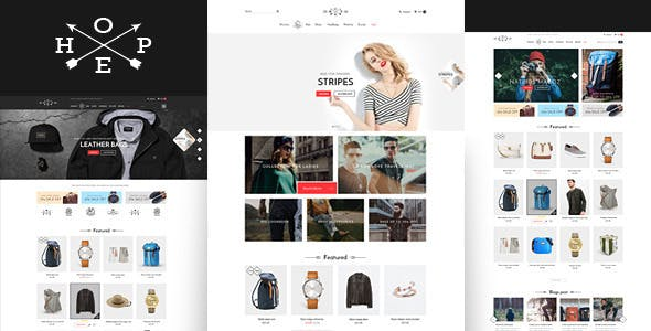Hope - eCommerce in HTML Bootstrap 5 Template