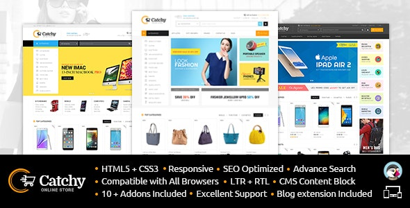 Catchy - Prestashop Responsive Theme - Shopping PrestaShop