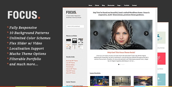 Focus - Responsive Portfolio & Business - Business Corporate