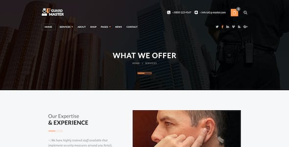 GUARD MASTER -  Security  Services PSD