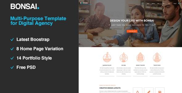 Bonsai | Multi-purpose HTML5 Template for Digital Agency  - Portfolio Creative