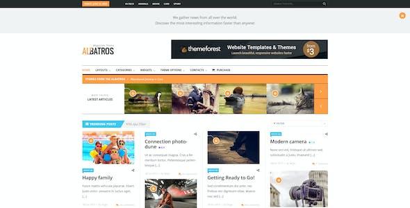 Albatros - WordPress Magazine Theme