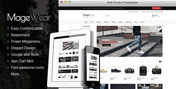 Magewear - Responsive OpenCart Theme  - Shopping OpenCart