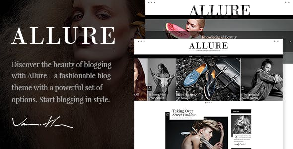 Allure - Fashion Blog Theme