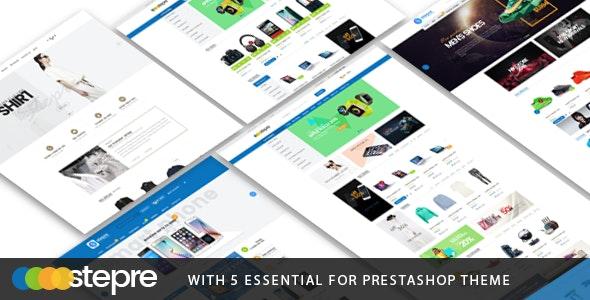 Stepre - Multipurpose Responsive Prestashop Theme - Shopping PrestaShop