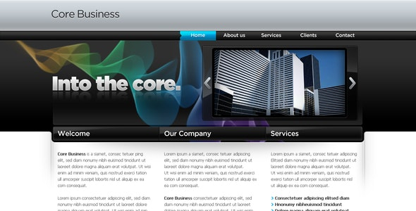 Business Template #04 - Corporate Photoshop