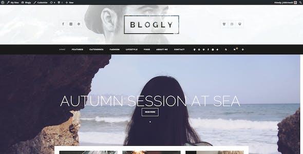 Blogly - Fancy WordPress Blog Theme