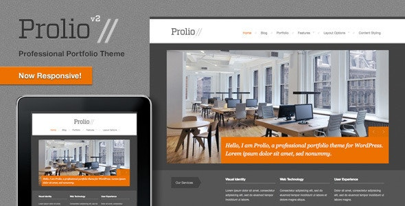 Prolio, a Powerful Portfolio WordPress Theme - Portfolio Creative