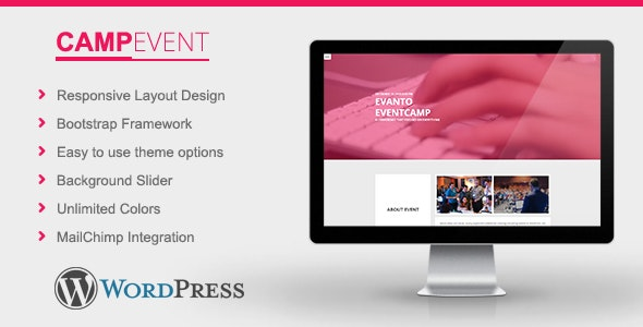 CampEvent - Conference, Event WordPress Theme - Events Entertainment