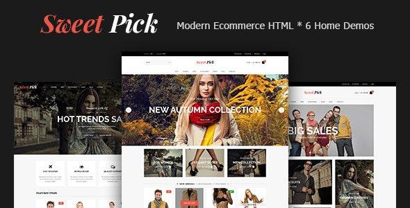 Sweet Pick | Modern E-commerce HTML Template - Shopping Retail