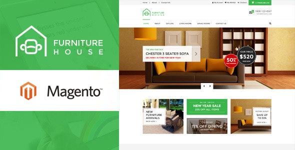 Furniture - Responsive Magento Theme - Shopping Magento