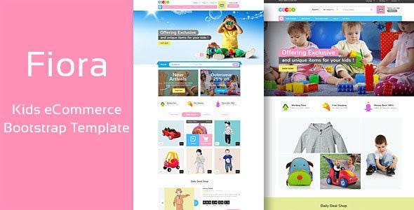 Fiora - Kids Store HTML Template - Shopping Retail