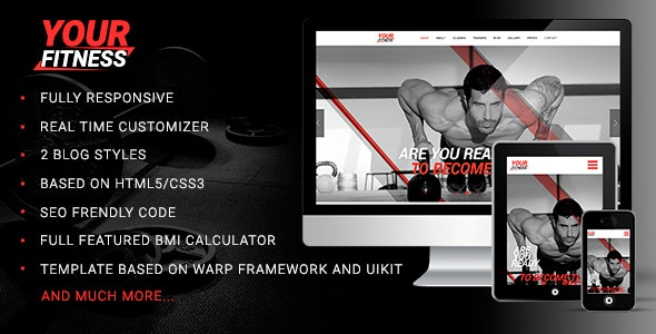 YourFitness — Sport Joomla Theme for Gym - Health & Beauty Retail
