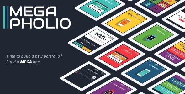 MegaPholio – BOLD Portfolio - Portfolio Creative